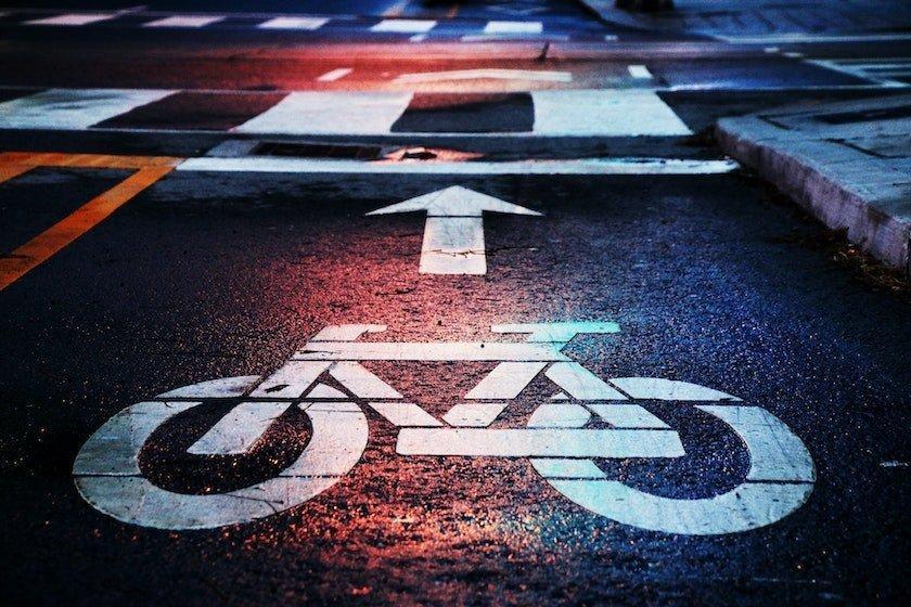 cycle lane commuting