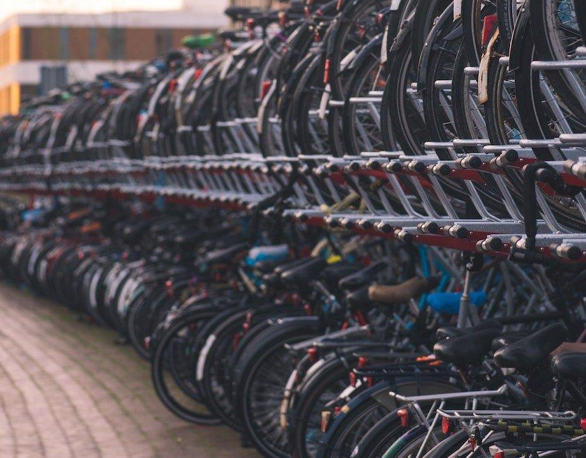 two tier bike racks commuting