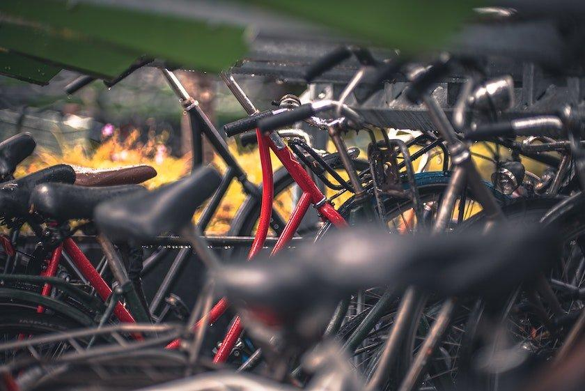 dutch bike parking