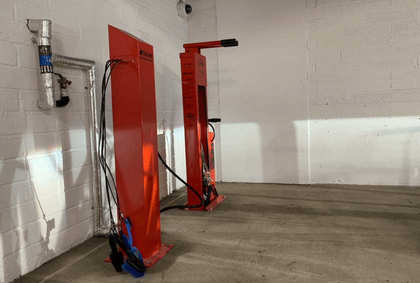 bike repair station build to rent cycle parking