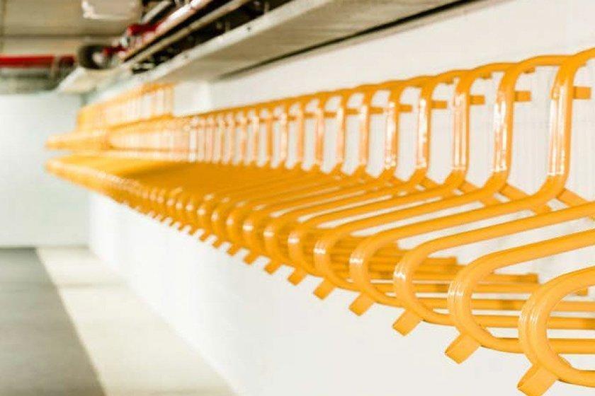 vertical wall rack storage