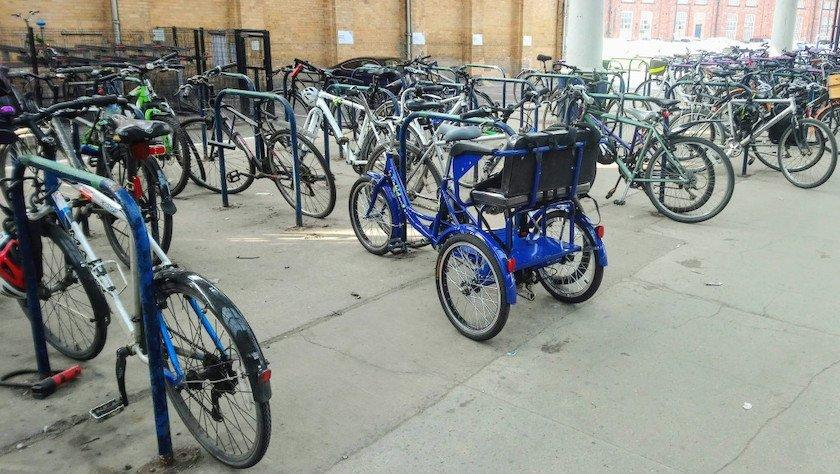 tricycle cycle accessible parking