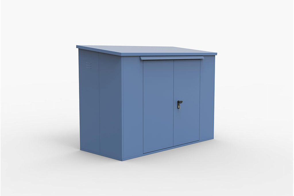 Blue Bike Box