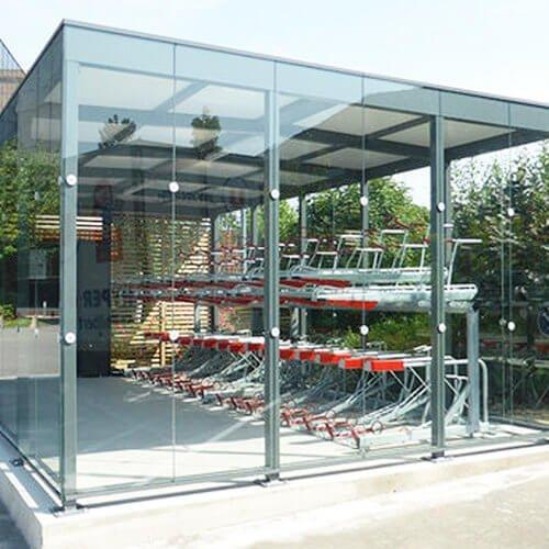 Single/two-tier Cycle Hub in Secure Access Structure