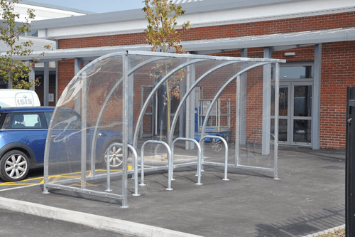 Ten Space Bike Shelter at Cost Effective Rates