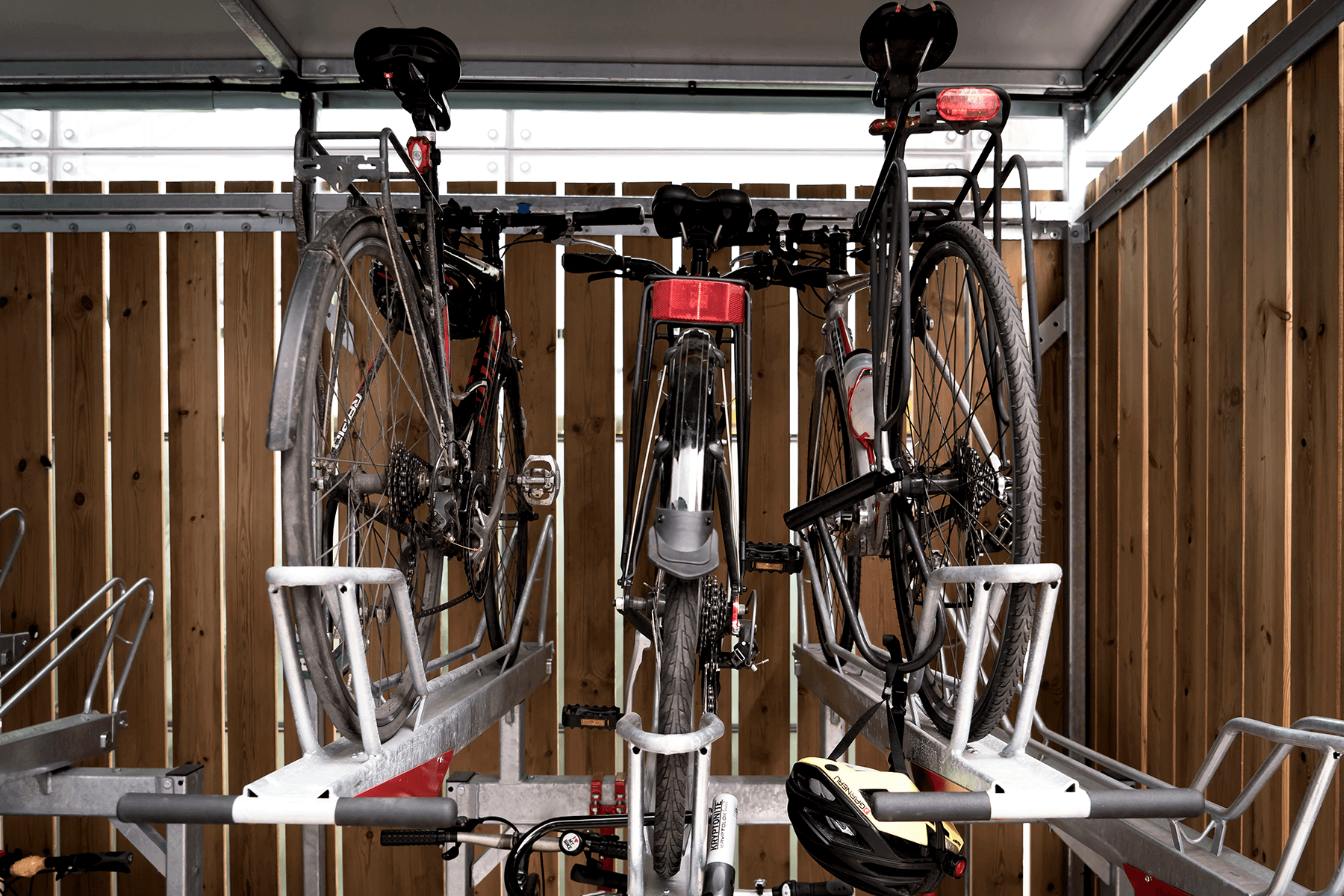 User-friendly Double Stacker Bike Storage Facility