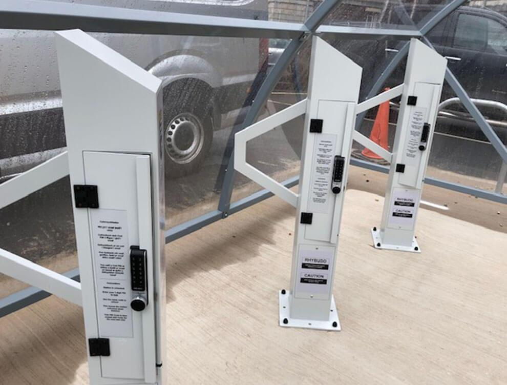 Electric Bike Charging Station Turvec Cycle Storage