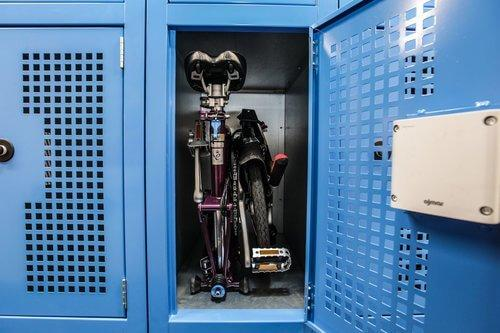 Electronic Storage Fcaility for Folder Bike