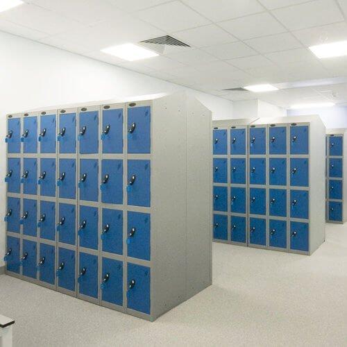Steel Kit Lockers For Bike Room