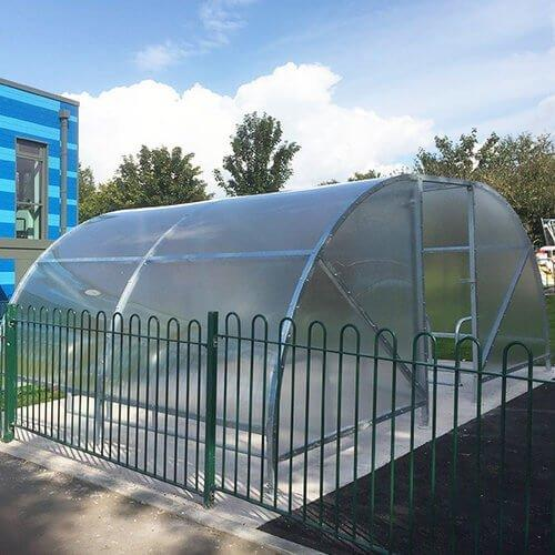 Bike Shelter For Schools