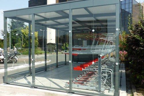 Cycle Hub Glass Sides