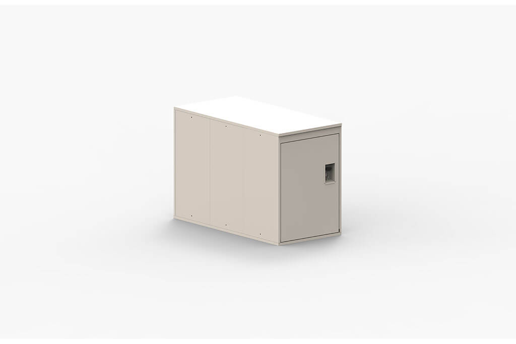 Turvec Single White Locker