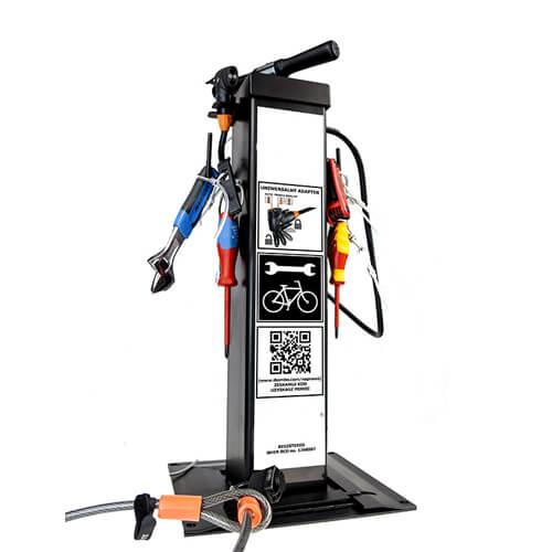Tools On Bike Workstation