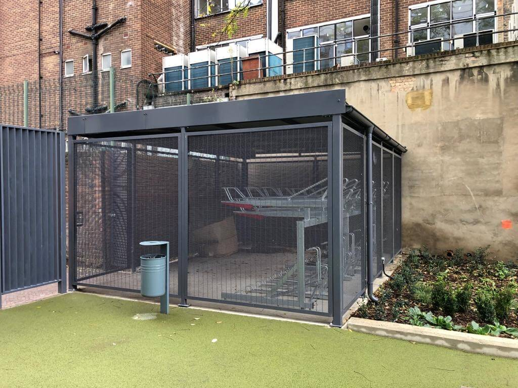 Two Tier Bike Rack Shelter