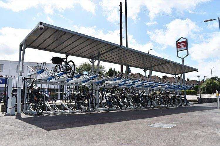Orpington Station Bike Racks